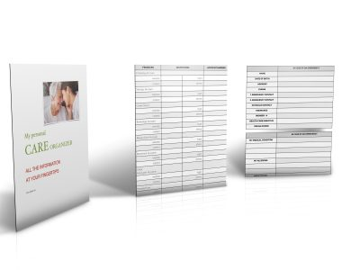 Care Organizer Worksheets